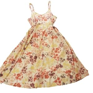 Motherhood Maternity Multicolor Floral Tank Dress